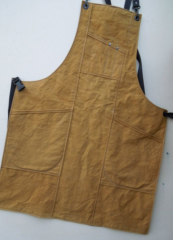 Canvas Apron AW4 Custom Made by ActionWare on Etsy
