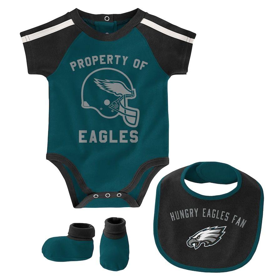Philadelphia Eagles I Love Watching With Mommy Baby Short Sleeve Bodysuit