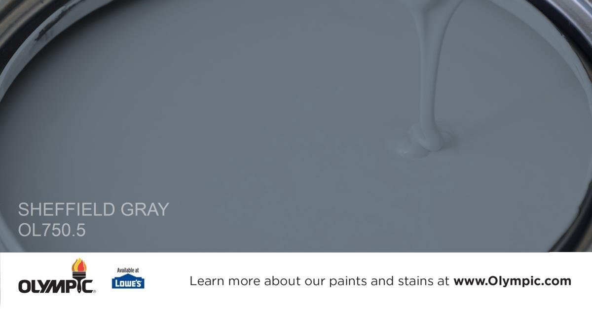 Sheffield Gray Paint Color - Glidden Paint Colors   Pinterest ...