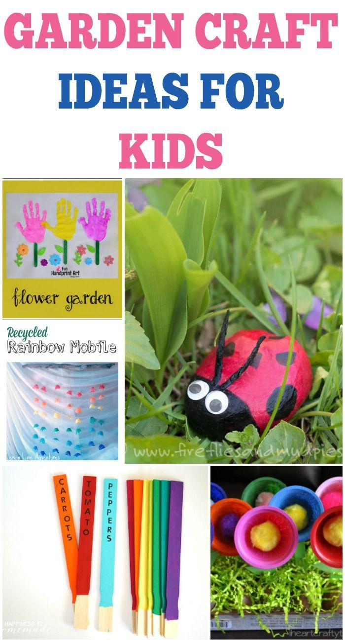 Outdoor Craft Ideas For Kids Garden Easy Crafts Toddlers Fun S Tweens