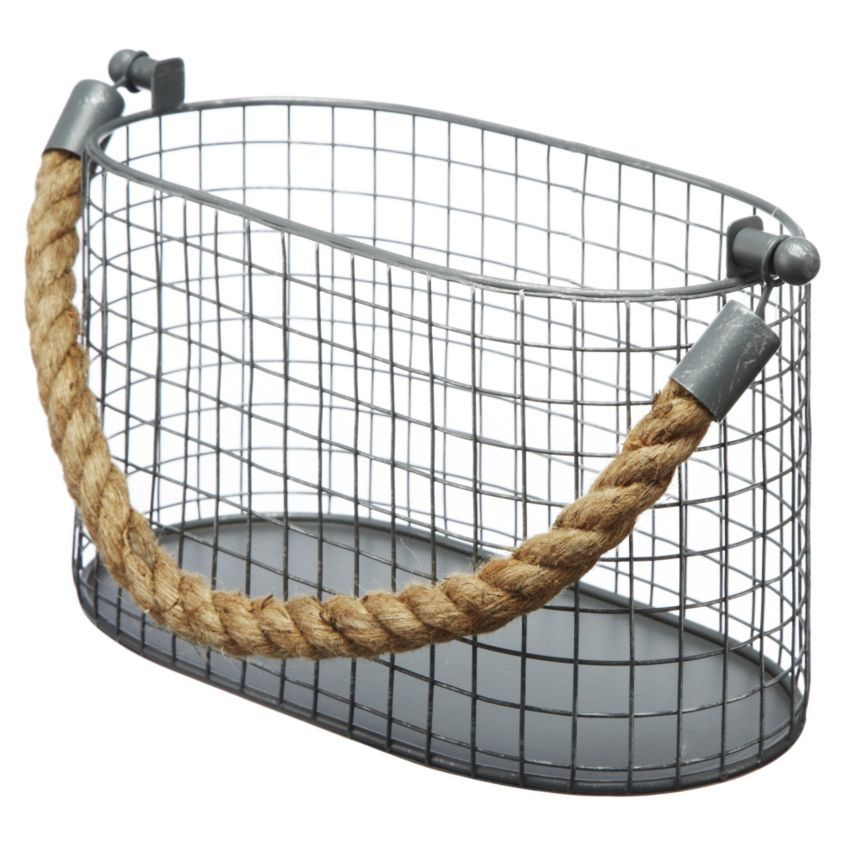 by Sainsburys Small Metal Basket - Objects - Accessories - Home ...
