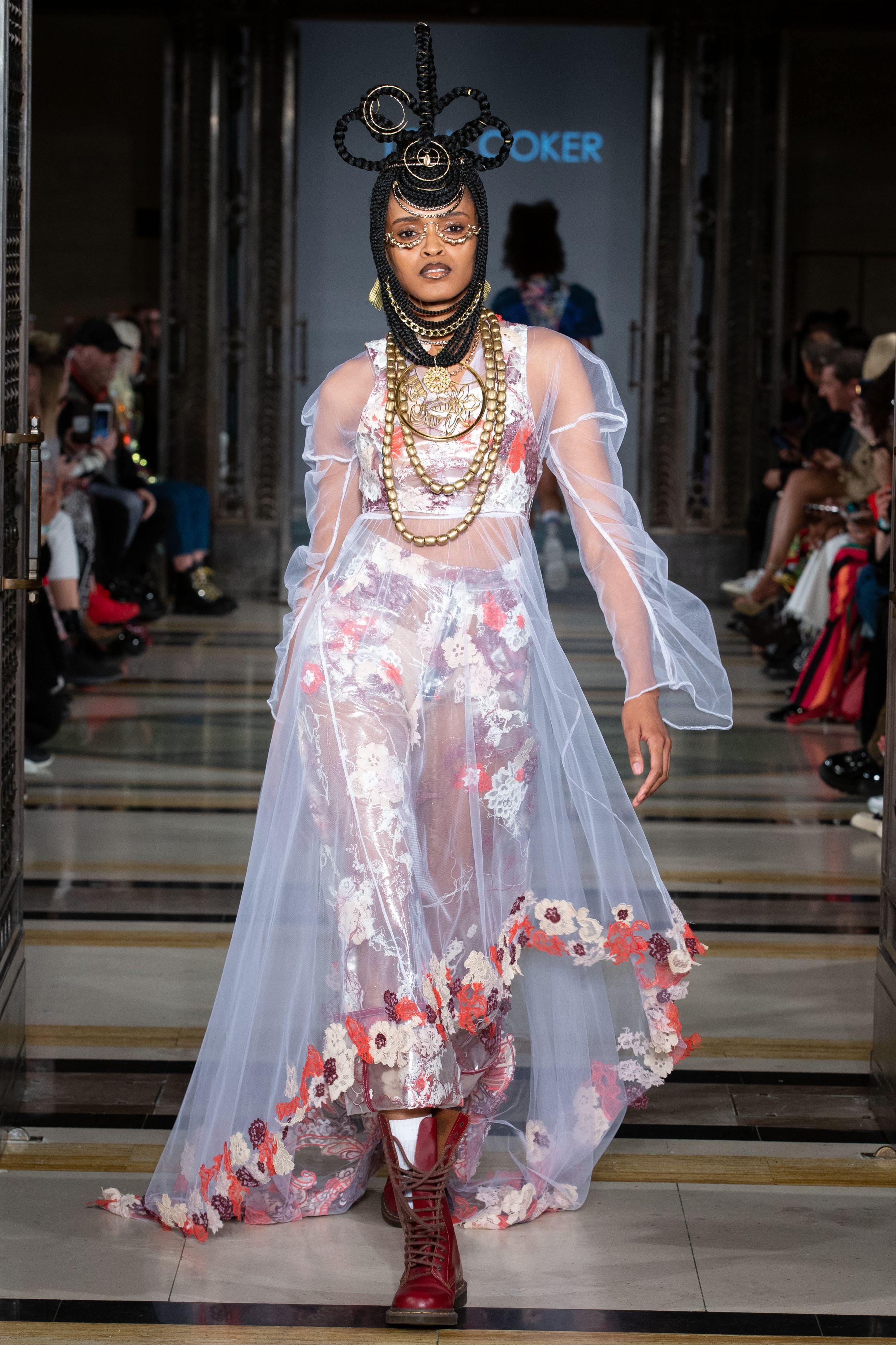 Nigerian Tolu Coker Showcases Her Eponymous Label At Lfw Fashion Nigerian Fashion Designers London Fashion Week