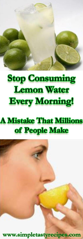 Acqua e limone per smettere di fumare