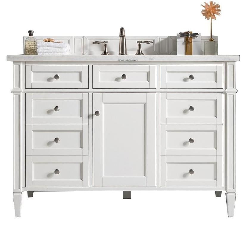 48 Brittany Single Bathroom Vanity Cottage White In 2019