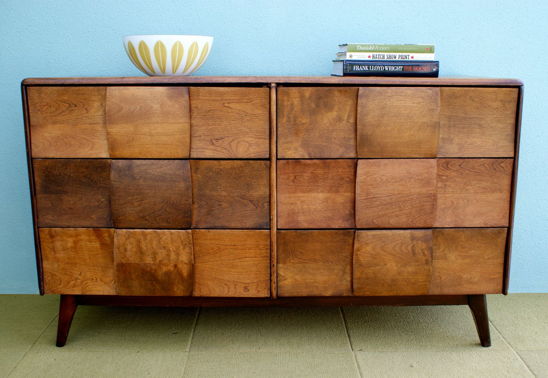 Heywood Wakefield Mid Century Danish Style Credenza Dresser 650 00 Via Etsy