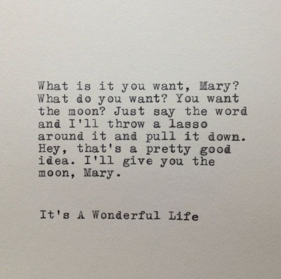 it\'s a wonderful life quotes