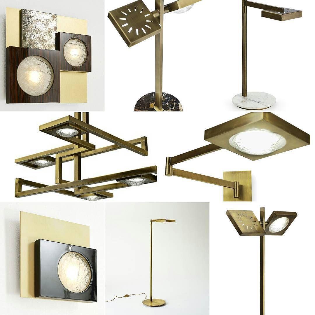 """Quale """"Cecile"""" ti piace di più?  Faccelo sapere!!! Which """"Cecile"""" do you like more? Let us know!!! #marionisrl #madeinitaly #luxuryliving #notoriouscollection #interiordesign #brass #bronzo #chooseone #choose #questionary #question #light  #lighting  #illuminazione #lampada #walllamps #applique  #lampadadaterra #lampadadatavolo #muro #snodo #snodabile"""