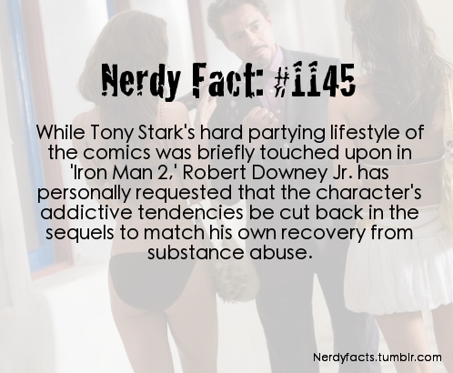 Tony Stark - Robert Downey Jr Fact - Iron Man 2