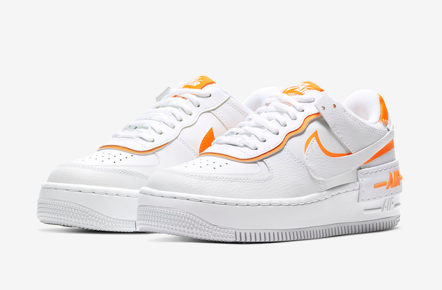 Nike Air Force 1 Shadow White Total