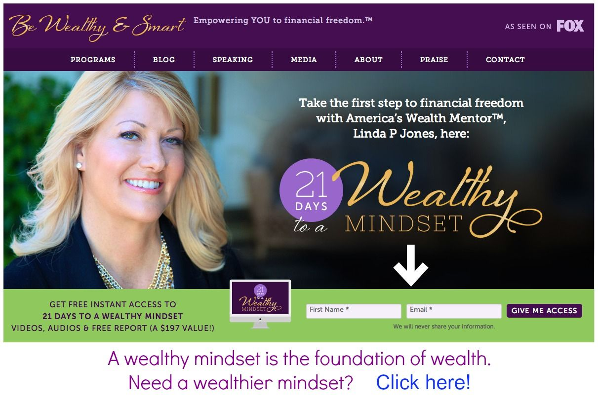 It only takes 21 days to get a wealthier mindset - FREE videos