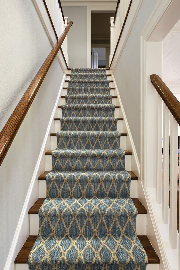 We Love A Bold Patterned Carpet On A Staircase