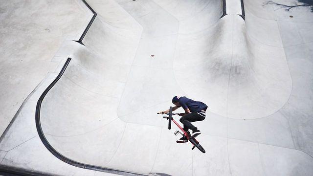BMX Aerial Video via defringe.com