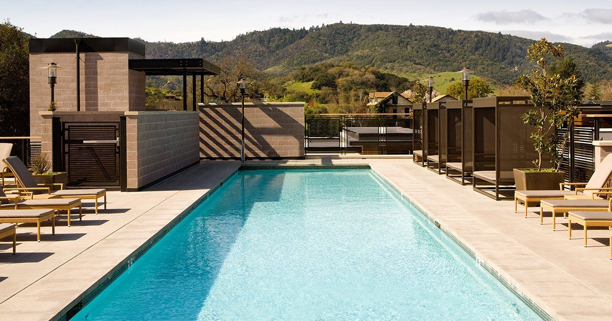 5 Spectacular Wine Country Hotel Pools Travel Destinations