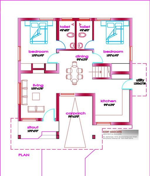 Small Two Bedroom House Plans Wonderful Images Of 2 Bedroom House Plans Kerala Style Home Design Floor Plans Kerala House Design Model House Plan