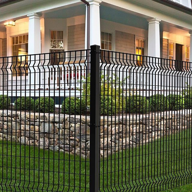 The Euro Style Fencing Is Our Only Steel Residential