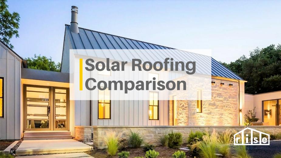 Solar Roofing Comparison Solar Panels Roof Solar Panels Architecture Solar Roof