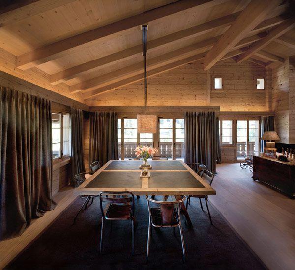 interior modern chalet