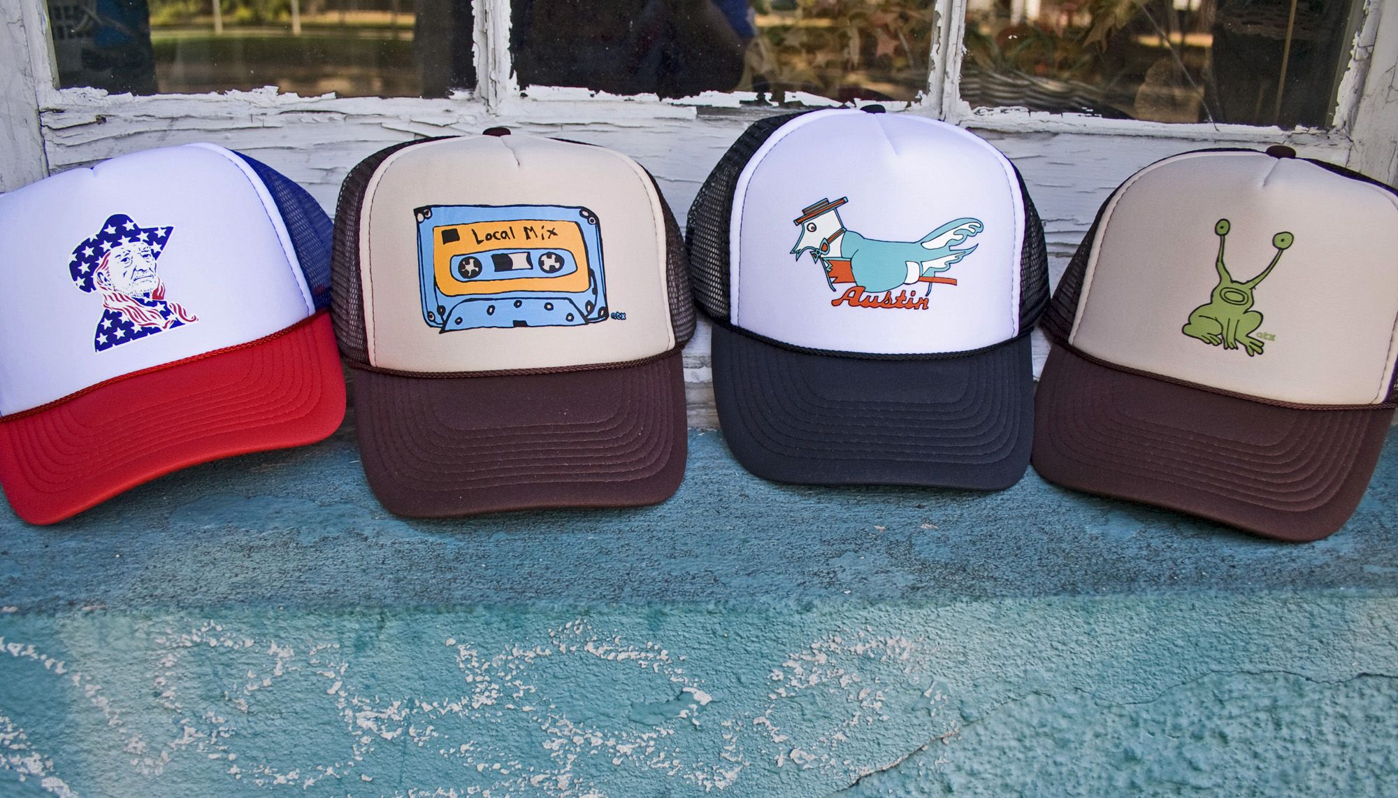 We just got in the coolest trucker hats ever!!