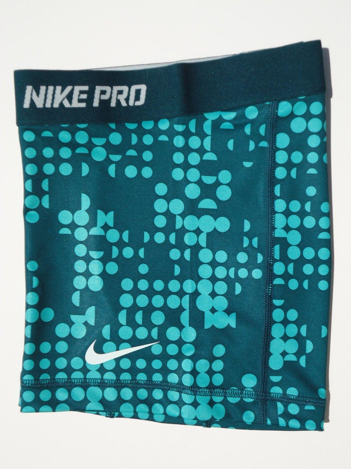 New Xs Nike Pro Core 2 5 Atomic Teal Print Womens Compression Shorts X Sml Ebay Nike Pros Nike Pro Shorts Nike Pro Spandex