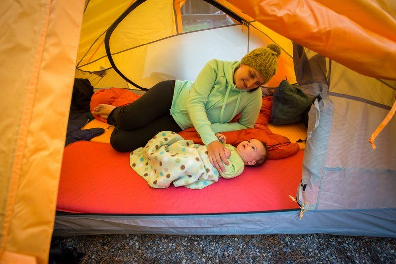 10 Tips for Camping with a Baby. Photo by Paul Zizka ...