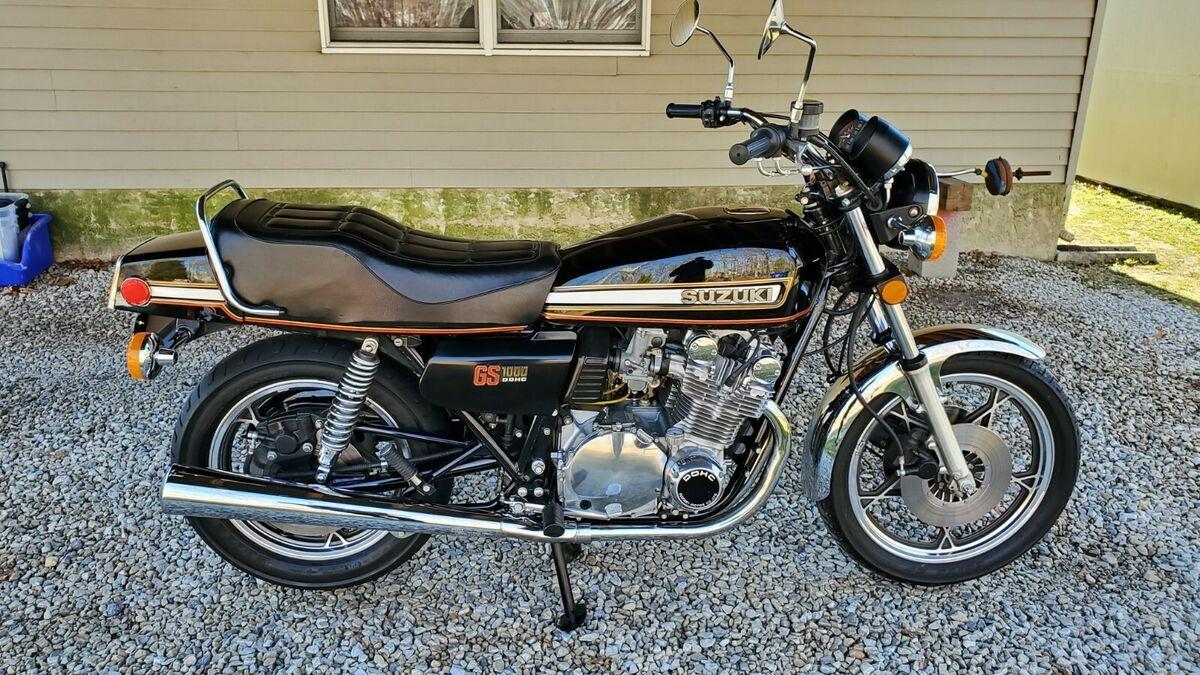 1978 Suzuki GS1000 Classics Motorcycle For Sale via