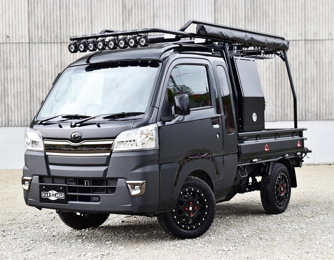 Hard Cargo On Instagram Hardcargo ハイゼットジャンボ Mini Trucks 4x4 Mini Trucks Suzuki Carry