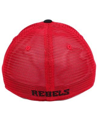 huge selection of fef7d 66d34 ... italy top of the world ole miss rebels peakout stretch cap black red m  7a9bc 2a12d