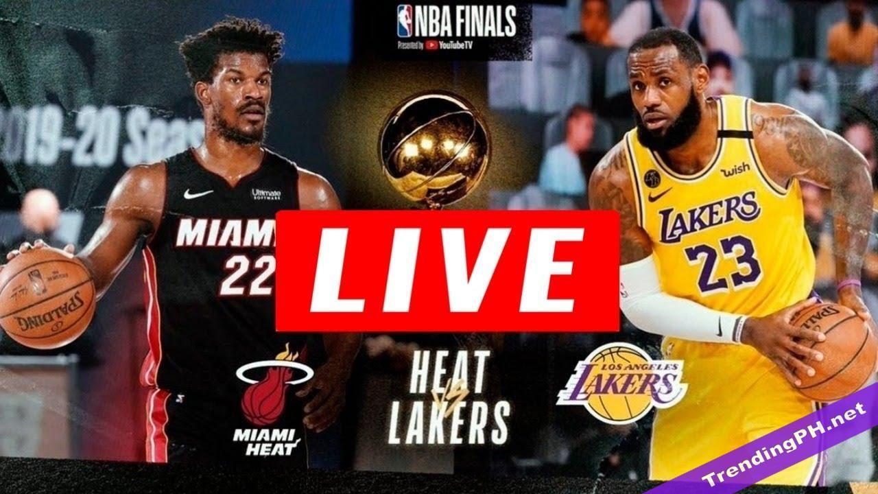 Live Los Angeles Lakers Vs Miami Heat Live Hd Game 6 Nba Finals 10 10 2020 In 2020 Nba Finals Miami Heat Lakers Vs