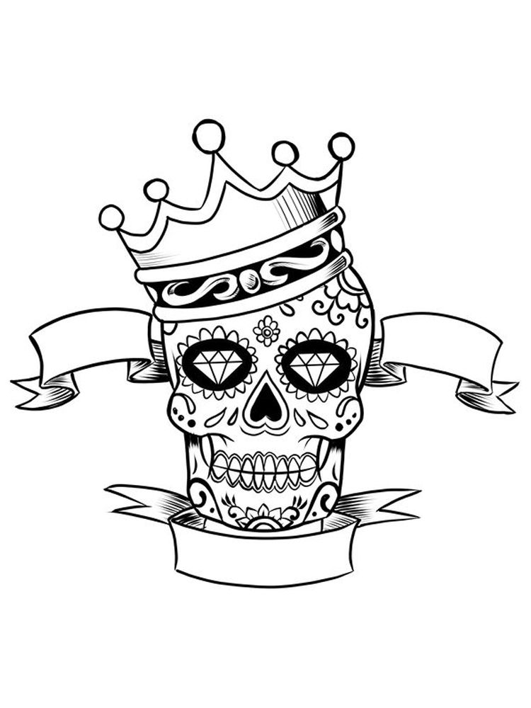 Coloring Pages Of A Crown For A King The Crown Is A Symbol Of