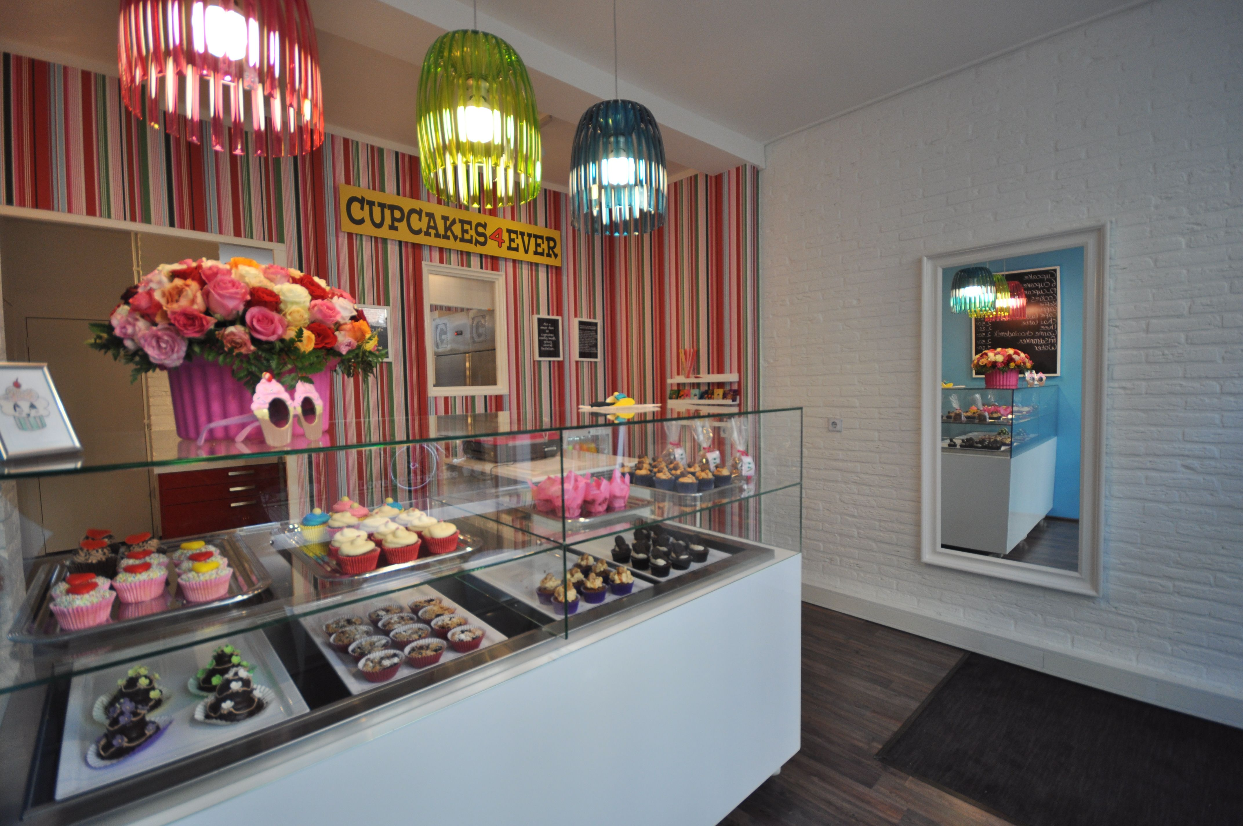 Cupcakes4Ever Shop, Arnhem, The Netherlands  Retail Interior Design Project  By A Interior