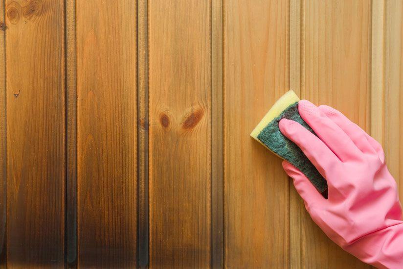 SaunaHolzPutzen Sauna, Reinigen, Reinigungsmittel