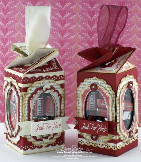 See the video tutorial on these fabulous twist top boxes here ... http://www.amazingpapergrace.com/page/225/