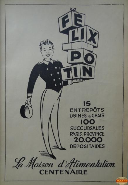 Clin d'oeil Pub Vintage FELIX POTIN muluBrok