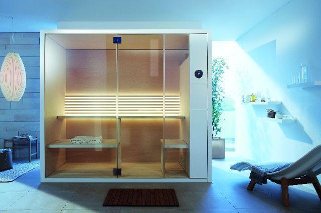 Saunavergnügen auf kleinstem Raum (Duravit) Kellerbad, Sauna - badezimmer auf kleinem raum