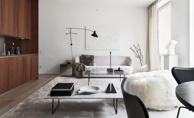 Scandinavische finesse in wit en zwart imagicasa interiors