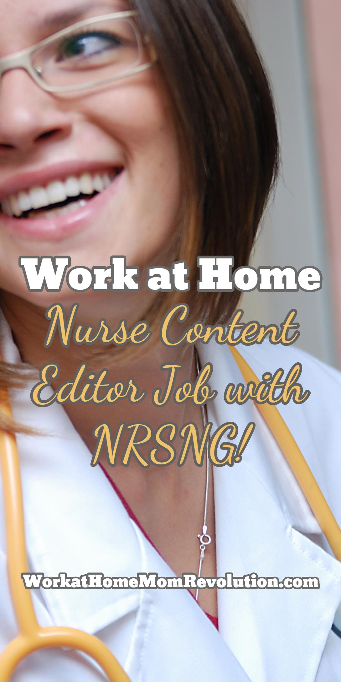 NRSNG Seeking Work at Home Nurse Content Editor (With