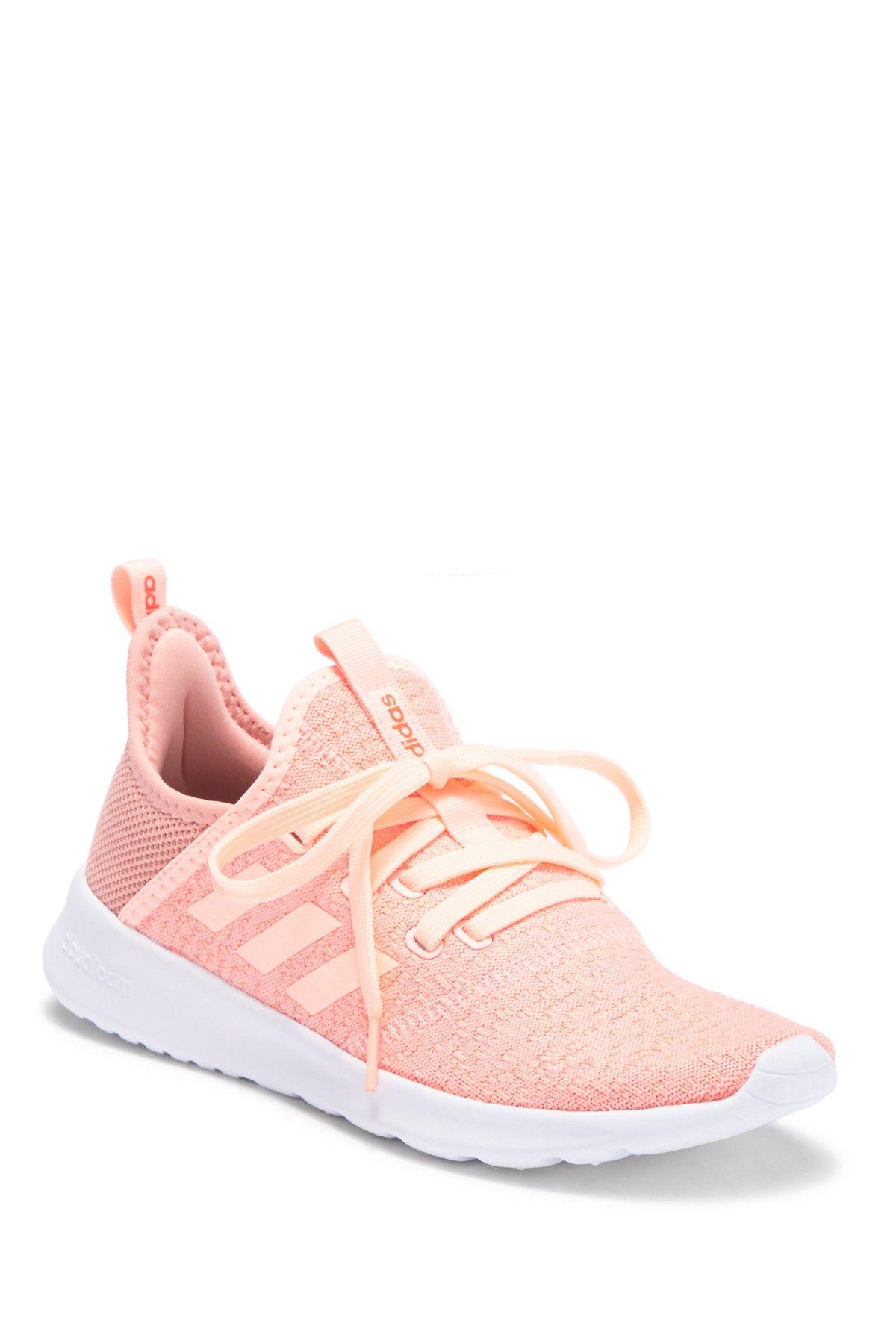 adidas | Cloudfoam Pure Sneaker | Sneakers, Pink tennis ...