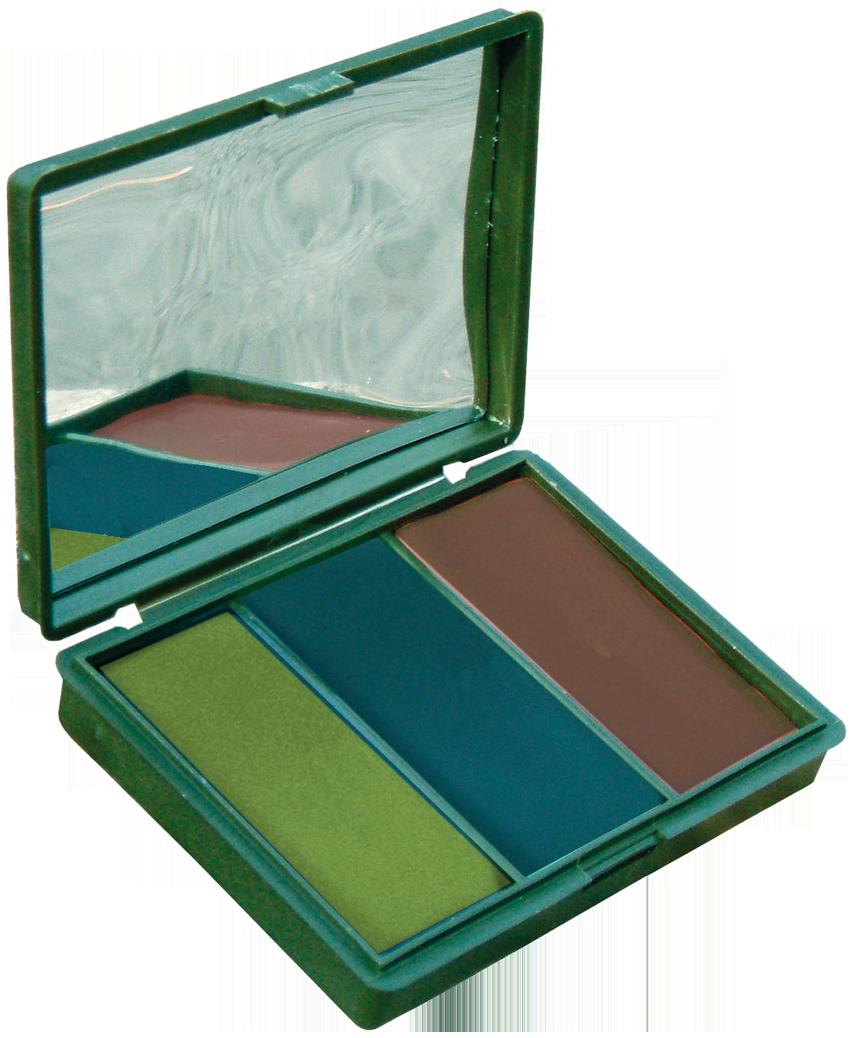2 oz BCB 2 Colour Compact Cam Stick camouflage cream face paint 60 g