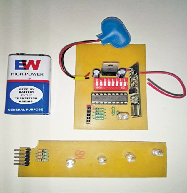 A wireless water level indicator using MCU is costly and not easy to ...