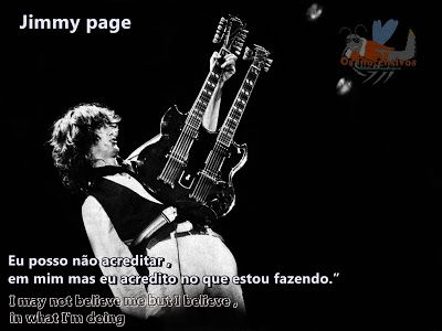 Os Inofensivos Frase De Jimmy Page Jimmy Page Frases E