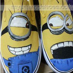 zapatos minions vans