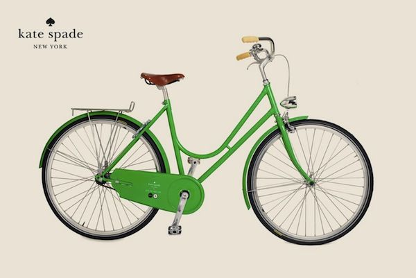 #travelcolorfully Kate Spade bicycle
