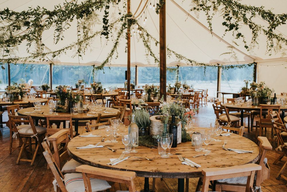 Outdoor Woodland Wedding at The Dreys in Kent with Grace Loves Lace Gown