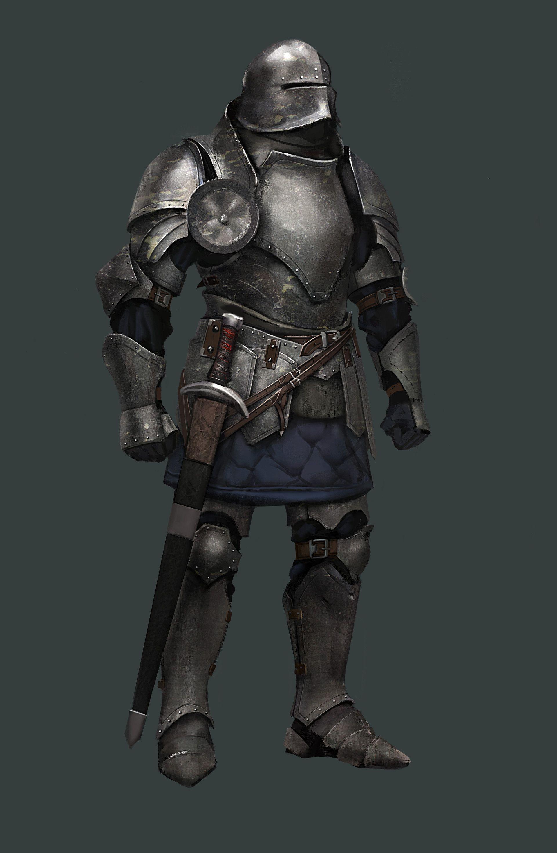 ArtStation - knight, Mikhail Palamarchuk