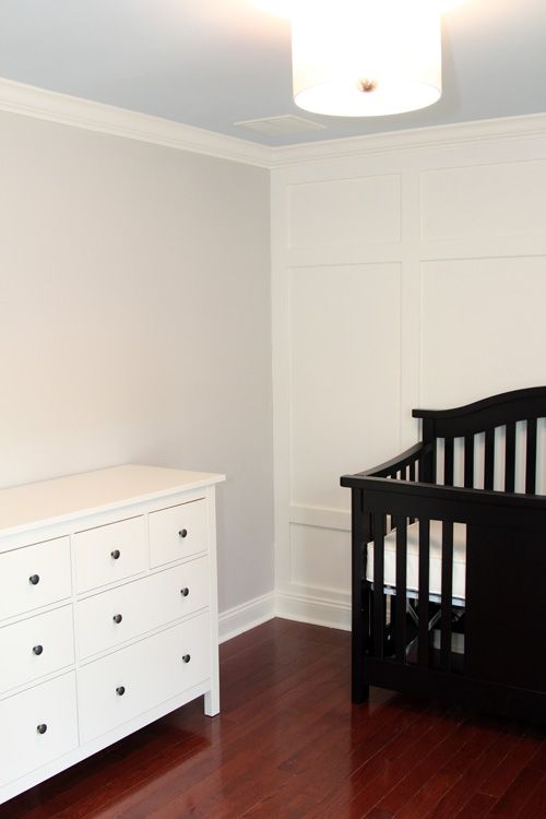 Ikea Hemnes Dresser As A Changing Table 299 Also Comes In Black Brown And Gray Brown Black Crib White Dresser Nursery Black Crib Nursery