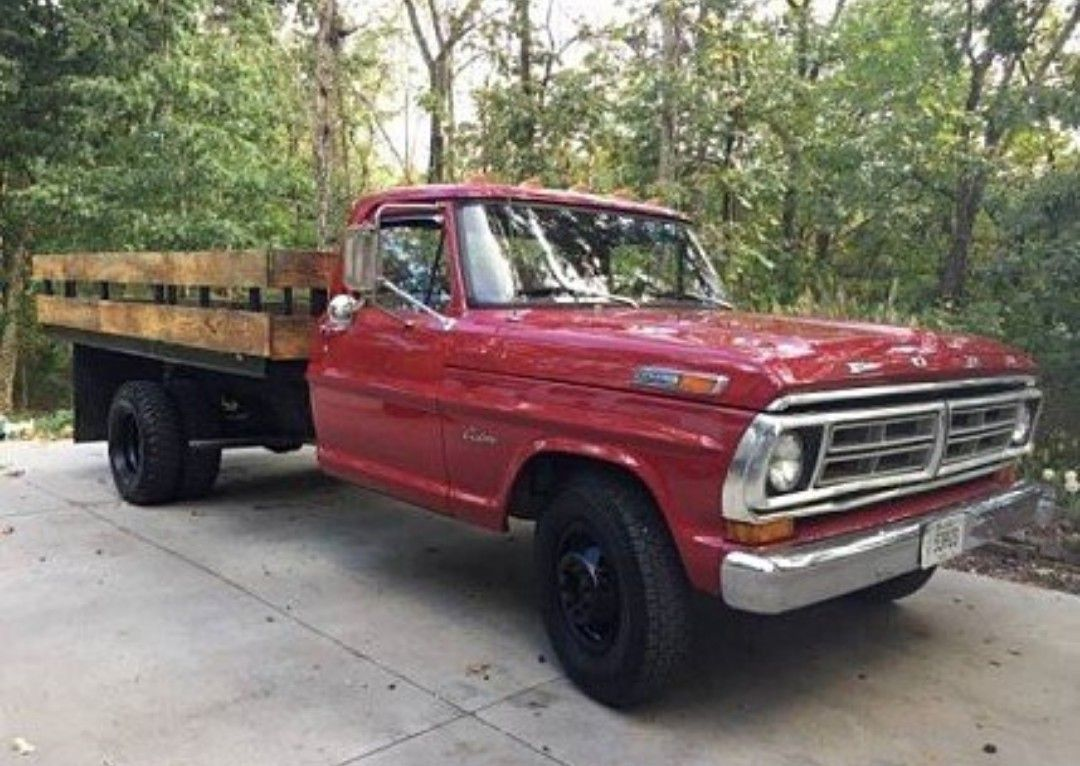 72 Ford F 350 Oh My Lord Its A Flatbed Pinterest 1970 Crew Cab