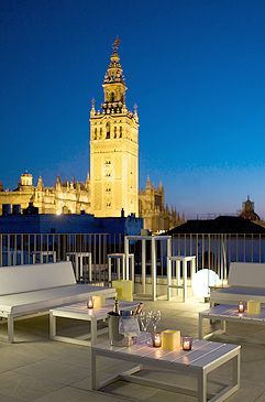 Espectaculares vistas desde la Terraza #FontecruzSevilla