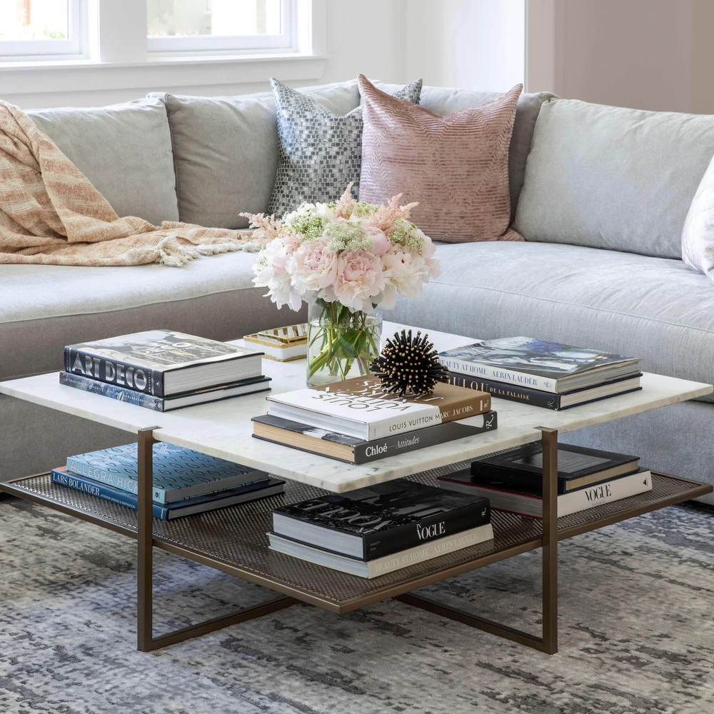 Olivia Square Coffee Table Table Decor Living Room Square Coffee Table Decor Coffee Table Decor Living Room [ 1000 x 1000 Pixel ]