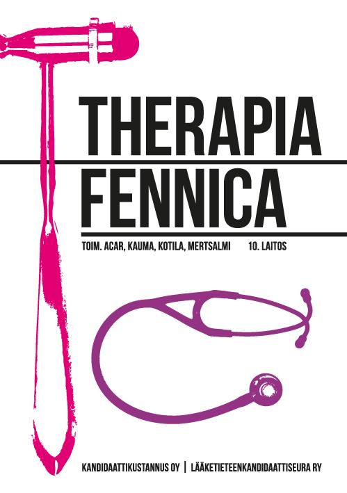 Therapia Fennica on ollut yksi suomalaisenlääketieteellisen kirjallisuuden perusteoksista jo yli 60 vuoden ajan. Yleisteoksen uudistetun 10. painoksen kirjoittamiseen on osallistunut yli 300 eri lääketieteen osa-alueiden asiantuntijaa. Kirja onsuunnattu perusterveydenhuollon ja erikoissairaanhoidon lääkäreille sekä lääketieteen opiskelijoille. Kirjan luvut tiivistävät oleellisen ydintiedon aiheesta kuin aiheesta, ja runsas kuvitus sekä selventävät taulukot helpottavat keskeisten asioiden…