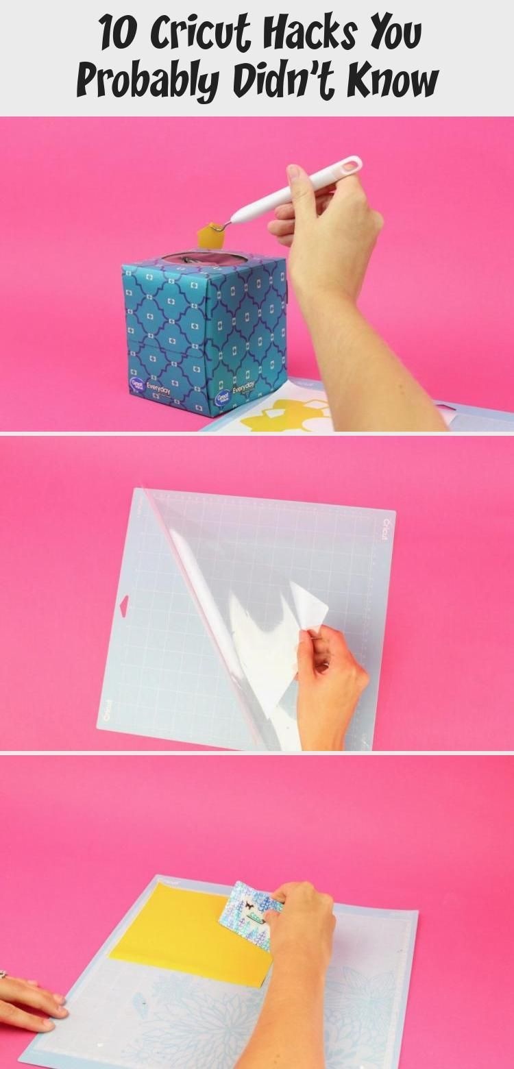 10 Cricut Hacks You Probably Didn't Know #cricuthacks 10 Cricut Hacks You Probably Didn't Know - A Little Craft In Your Day #cricutideasBeginner #cricutideasUnicorn #cricutideasForFriends #Uniquecricutideas #cricutideasForGifts #cricuthacks